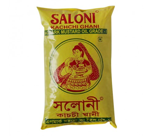 Saloni Mustard Oil - 1 Ltr